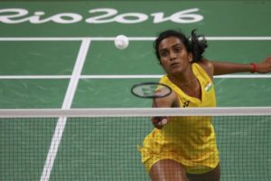 P.V. Sindhu, one of India's medalists at Rio this year. Credit: Reuters/Marcelo del Pozo