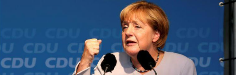 Merkel's Party Slumps in Berlin Election, But Don't Count Her Out For 2017
