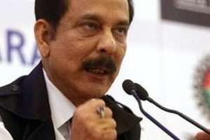 Chairman of Sahara India Pariwar Subrata Roy. Credit: PTI