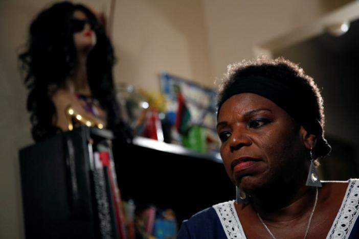 Tanya Walker, a 53-year-old transgender woman, activist and advocate, gives an interview at her apartment in New York City, U.S. September 7, 2016. Credit: Reuters/Brendan McDermid