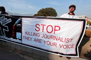 At least 700 journalists have been killed worldwide in the past decade, the vast majority of which go unresolved. Credit: Reuters