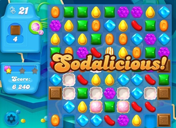 Candy Crush gameplay, King (2012)