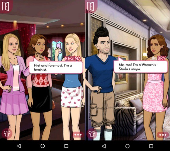 Mean Girls: Senior Year gameplay, Pocket Gems (2015)