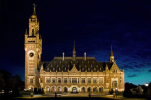 The Peace Palace at The Hague, seat of the International Court of Justice. Credit: Wikimedia