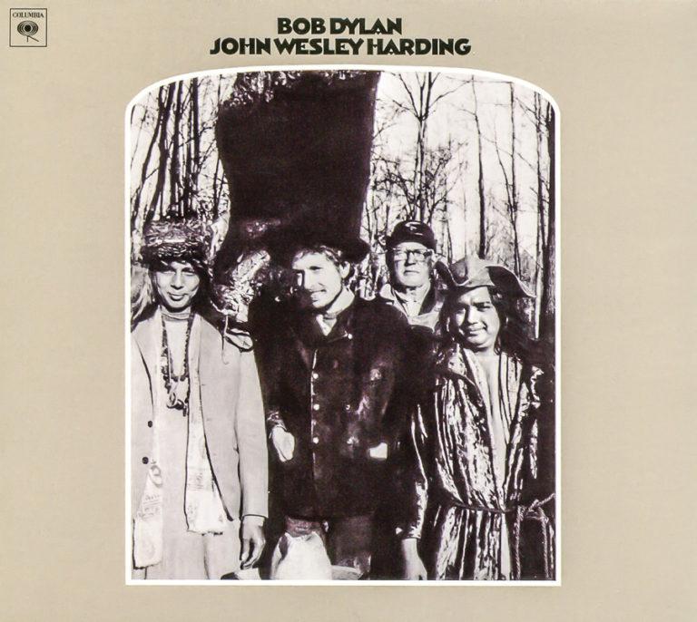 Bob Dylan's John Wesley Harding album cover. Credit: Jazz Guy/Flickr, CC BY-NC-ND 2.0