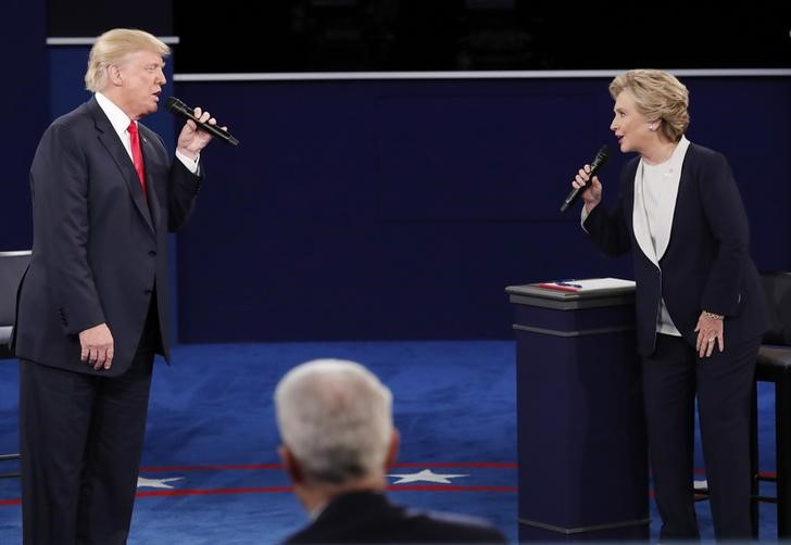 Donald Trump, Hillary Clinton Spend Much of Second Debate Trading Barbs