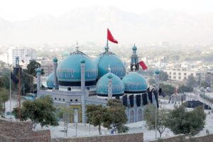 A view of the Sakhi Shrine after an overnight attack in Kabul, Afghanistan October 12, 2016. Credit: Reuters