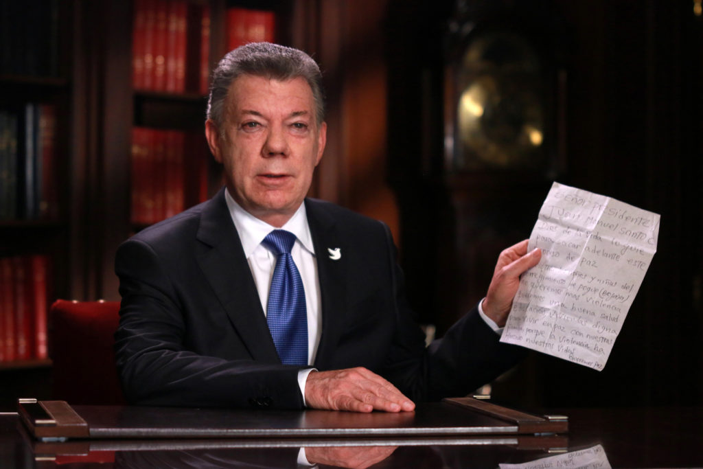 Colombia: Juan Manuel Santos Extends Ceasefire With FARC Till Yearend