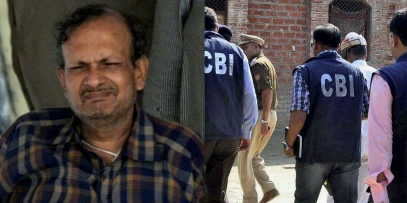 B.K. Bansal blamed the CBI for driving him and his family to suicide. Credit: Twitter/PTI