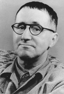 Bertolt Brecht. Credit: Wikimedia Commons