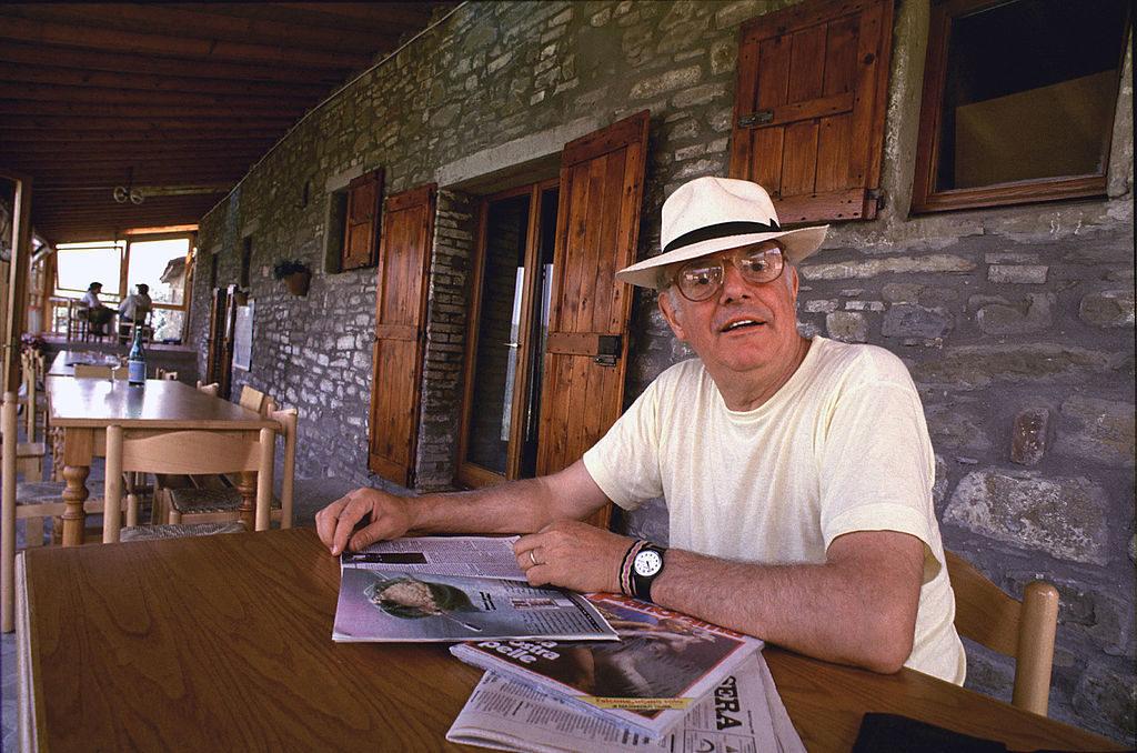 Dario Fo in Gubbio, 1988. Credit: Wikimedia Commons