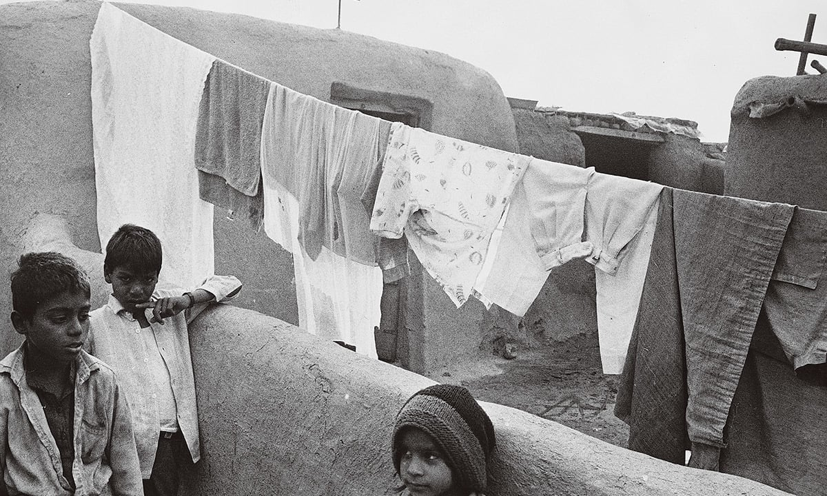Young boys at a Christian colony in Gulberg, Lahore. Credit: Arif Mahmood/White Star/Herald
