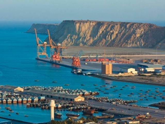 Development of Gwadar Port holds a pivotal role in the execution of CPEC. Credit: Reuters