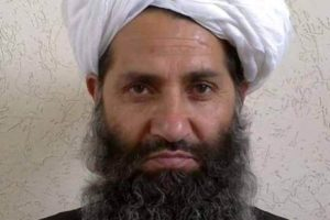 Haibatullah Akhundzada is seen in an undated photograph, posted on a Taliban twitter feed on May 25, 2016, and identified separately by several Taliban officials, who declined be named. Credit: Twitter/via Reuters