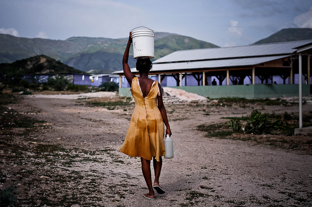 After Hurricane Matthew, Women Lead the Road to Recovery in Haiti