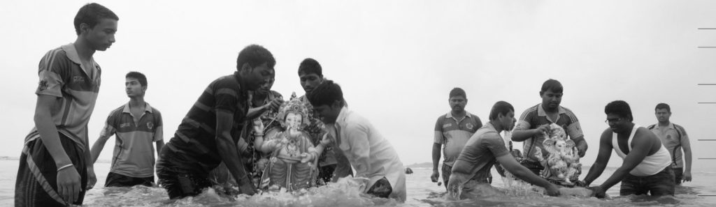 Polluting Gods: A Photo Story on the Environmental Impact of Idol Immersion