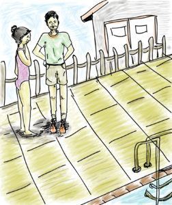 """""""Yes, you can,"""" says Zakir, like he always does. My brother is nothing if not optimistic. Did I mention he scored a perfect 2400 in his SATs? I should hate him, right?"""". Illustration: Ita Mehrotra"""