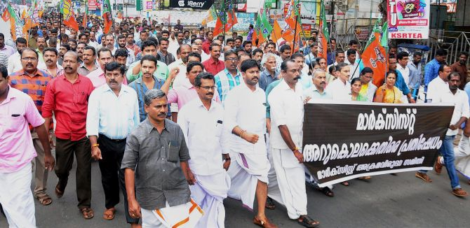 Both BJP and the Left Aren't Trying to Prevent Political Killings in Kerala