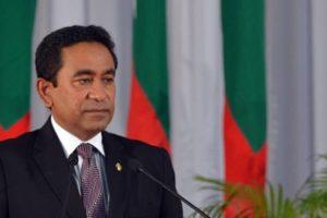 Maldives President Abdulla Yameen. Credit: Reuters