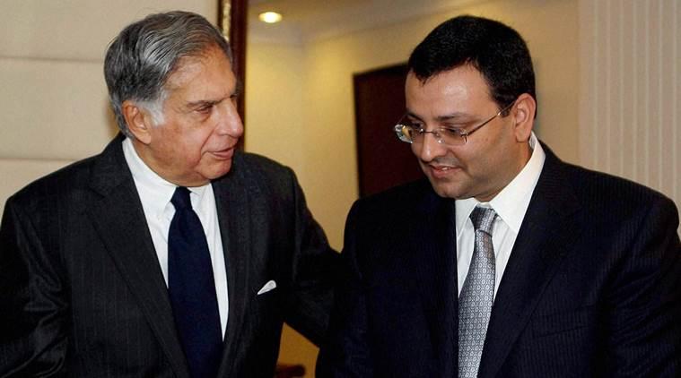 File photo of Ratan Tata with Cyrus Mistry. Credit: PTI