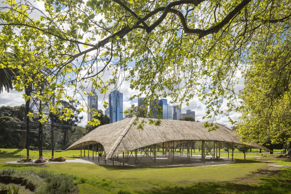 Within Melbourne's Queen Victoria Gardens Lies An Indian Space for Australian Creativity
