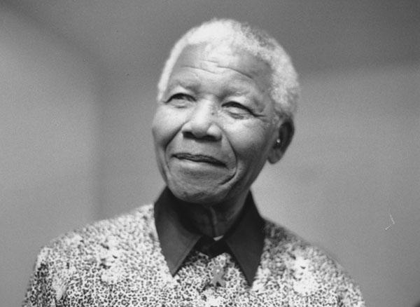 Nelson Mandela. Credit: Wikimedia Commons