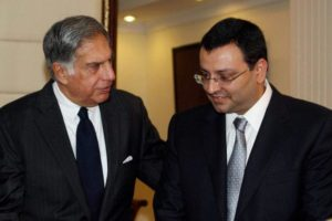 Ratan Tata (left) and Cyrus Mistry (right) in the file photo from 2012. Credit: PTI