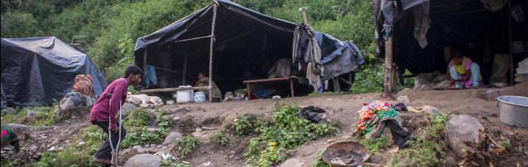 Photo Story: Inhabitants of Charan Khad Slums Bear Brunt of Dharamshala Smart City Dream