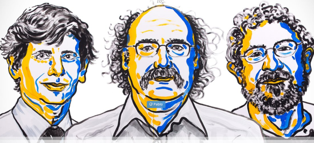 Physics Nobel Goes to Three Scientists for Work on Exotic Forms of Matter