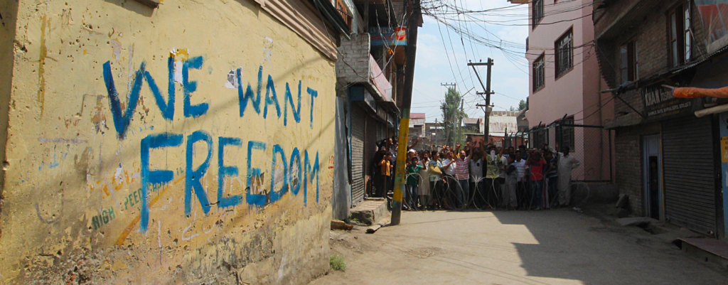 The Writing on the Walls in Kashmir