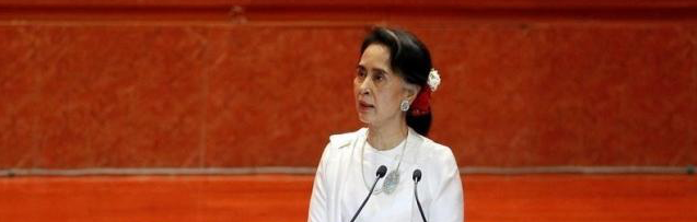 As Aung San Suu Kyi Visits India, She Leaves a Powder Keg Ready to Blow Back Home