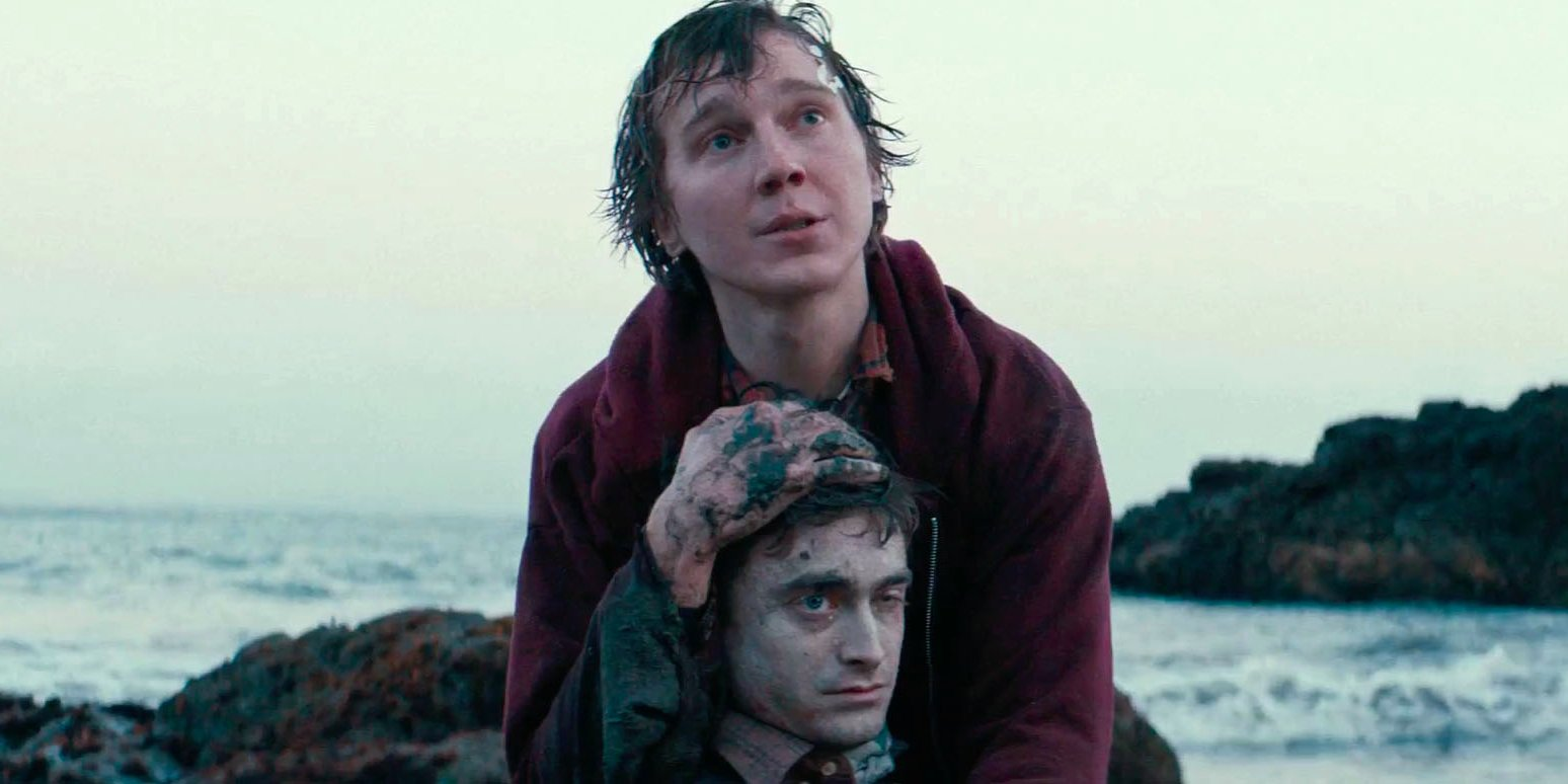 A still from Swiss Army Man