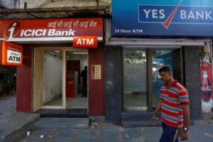 The malware infiltration apparently hit a group of Hiatchi-operated YES Bank ATMs. Credit: Reuters