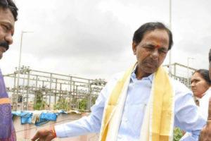 Telangana chief minister K. Chandrashekhar Rao. Credit: Facebook