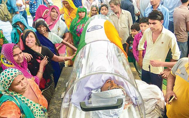 At Funeral of Dadri Murder Accused, Communal Speeches – and Ministerial Support