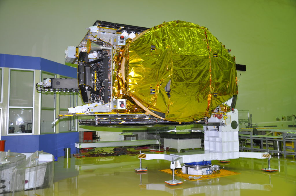 GSAT-18 Launch Postponed Due to Cross Winds