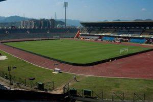 Nehru Stadium in Guwahati. Credit: Twitter