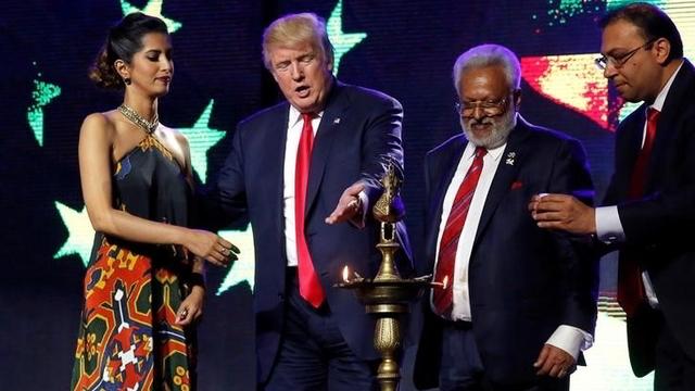 Donald Trump at the Credit: Reuters