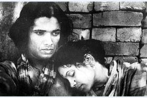 Khan Ata and Tripti Mitra in the film Jago Hua Savera