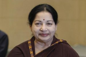 A file photo of Tamil Nadu chief minister J.Jayalalithaa. Credit: PTI