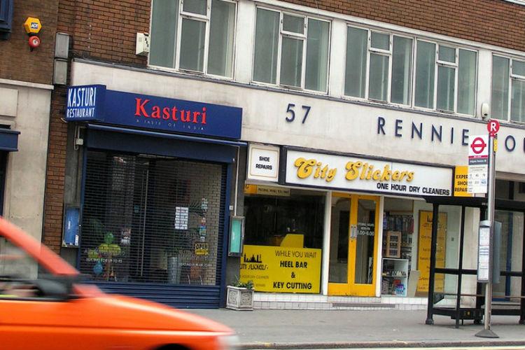 The Kasturi, a British 'curry house'. Credit: Joh Keogh/Flickr, CC BY-NC 2.0