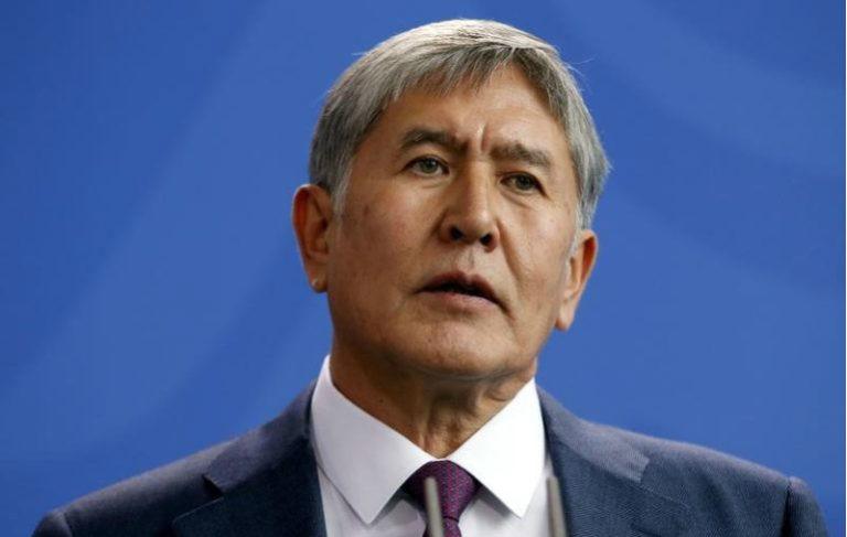 Kyrgyzstan's President Almazbek Atambayev. Credit: Fabrizio Bensch/File Photo/Reuters