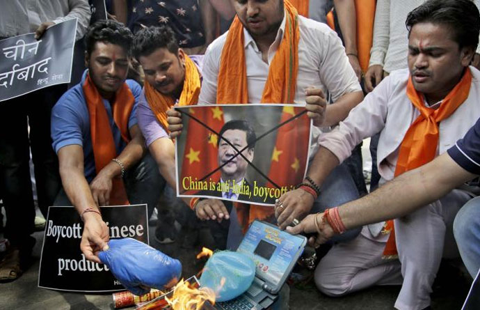 The Sangh Parivar is Tilting At Windmills On The Chinese Boycott Issue