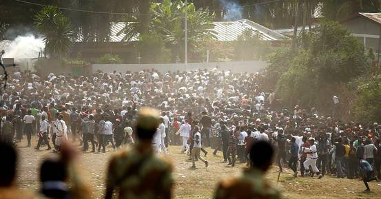 Dozens Killed in Stampede at a Protest in Ethiopia