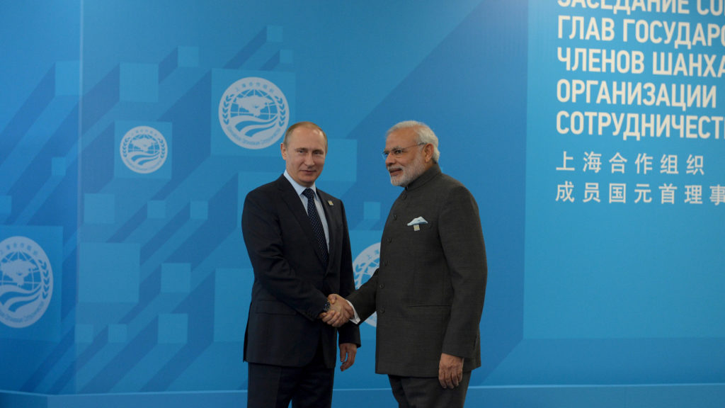 As India Tilts Westwards, Russia Looks to Pakistan to Widen its Strategic Options
