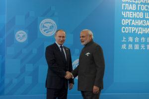 Vladimir Putin and Narendra Modi. Credit: Reuters