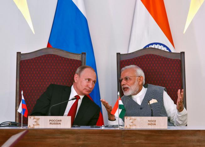 Old Friends: India, Russia Claim To Be on the Same Page on Terror, Pakistan