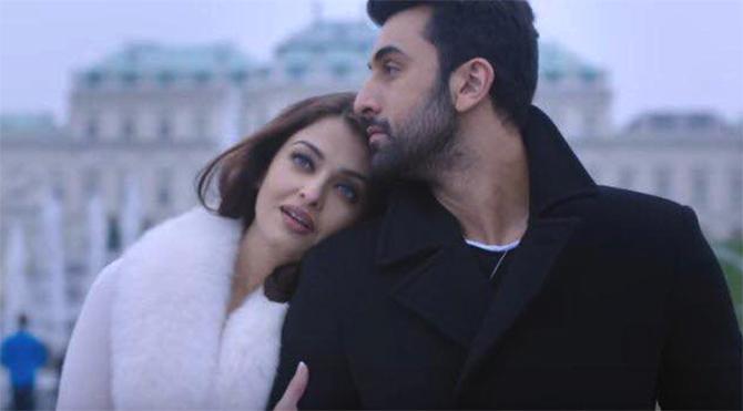Ranbir Kapoor and Aishwarya Rai in Karan Johar's Ae Dil Hail Mushkil