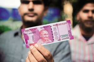 The legality of using Devanagari numerals in new currency notes has come into question. Credit: PTI