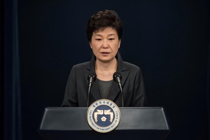 Shamed by Scandal, South Korea's Park Asks Parliament For Exit Plan
